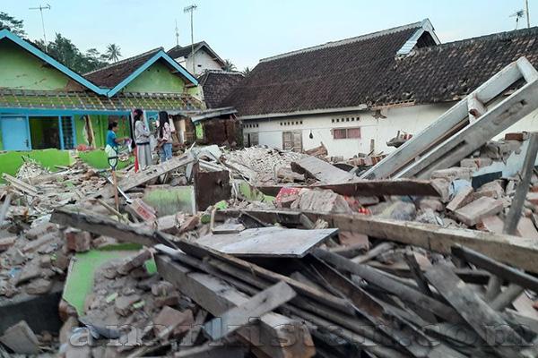 Kota Malang di Guncang Gempa